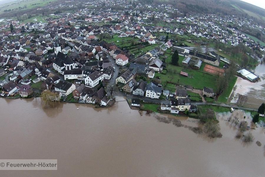 TH-Hochwasser
